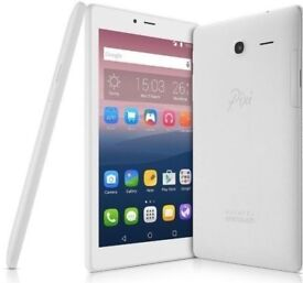 "ALCATEL PIXI 4 WHITE 7"" TABLET WIFI ONLY WITH RECEIPT"