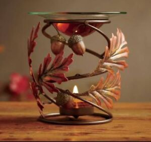 New partylite falling leaves fragrance warmer