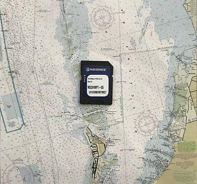 Navionics HotMaps Platinum South MSD/HMPT-S6 Multi-Dimensional Lake Maps SD Card