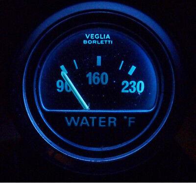 de Tomaso Pantera LED Gauge Lamps Veglia, LED Instrument Lights (Hybrid Blue)