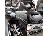 Peugeot 206CC Convertible 2006 spares or repairs