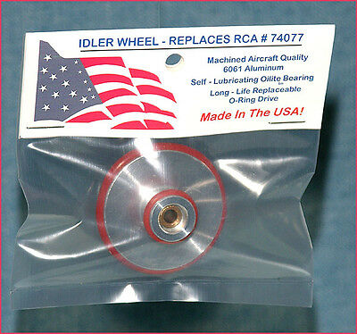 Idler Wheel Replaces RCA 74077 For 45 RPM Record Player + FREE BONUS !!