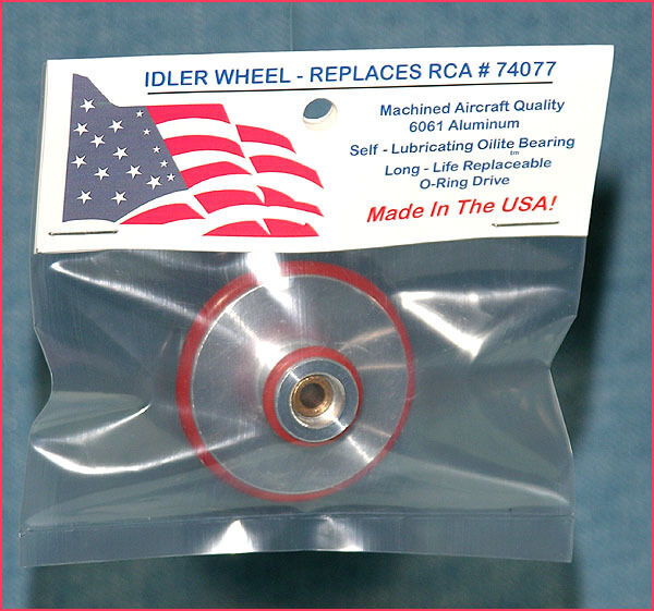 Idler Wheel Replaces RCA 74077 For RCA 45 RPM Changer RP-168 & RP-190