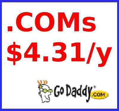Com Domain Names At Godaddy Max 5 Domains For Under  5  Coupon Link Discount
