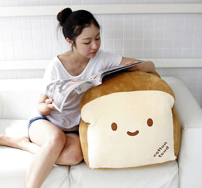 "Bread 28"" Plush Stuffed Pillow Doll Soft Cushion Room Home Decor Cute Gift Toy"