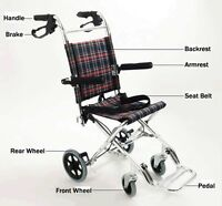 New Folding Transport Chair Wheelchair On Sale 211031