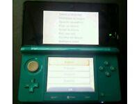 Nintendo 3ds aqua blue