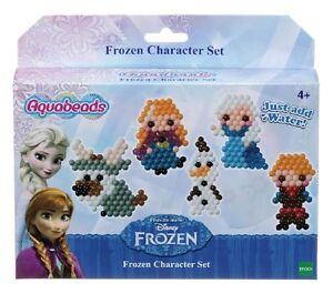 Aquabeads DISNEY FROZEN Character Set 450 Jewel + Solid Aqua Beads ELSA  Anna