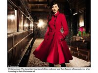 Jonathan Saunders Edition Women's Red Coat