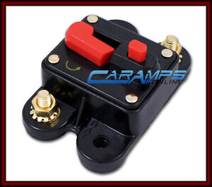 12V-200-AMP-CAR-STEREO-INLINE-POWER-CIRCUIT-BREAKER-REPLACES-FUSE-HOLDER-200A