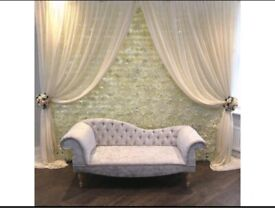 *£99* Wedding Stage Flower wall Backdrop Flowerwall Mehndi Stage Wedding decor Marquee