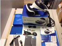 PSVR with camera, games and controllers