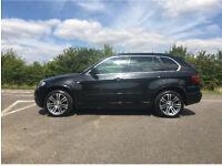 Stunning BMW X5 sapphire black