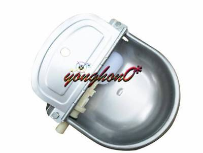 Automatic Water Feeder Trough Bowl Cattle Horse Goat Sheep Dog Animal Stainless