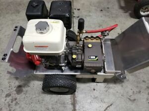 3500 PSI Gas Pressure WASHER 4.GPM - 13HP Honda Engine - Gearbox