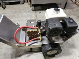 Gas Pressure Washer 4000 psi @4.GPM -13hp honda Engine-Gearbox