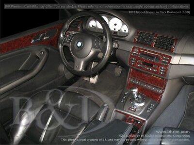 Dash Trim Kit for BMW M3 00 01 02 03 04 05 carbon fiber wood aluminum Bmw Wood Dash Kits