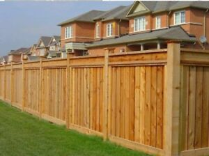 Fence installation or repair in GTA call 437-7798379