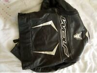 Wolf Motorcycle (Bike) Leather Jacket Size 46