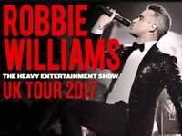 ROBBIE WILLIAMS Tickets for CARDIFF