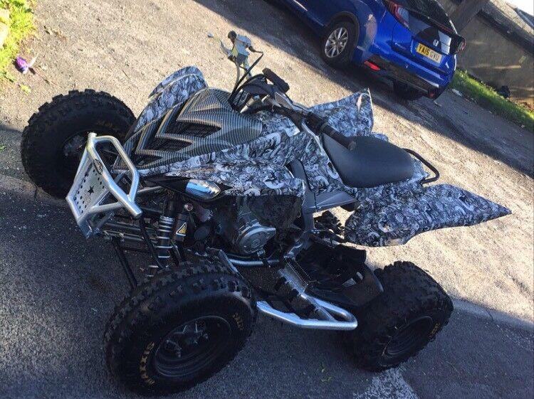 yamaha 700 raptor. yamaha yfm 700 r raptor quad bike * yfz450 yfm700 ltz 450 ltr
