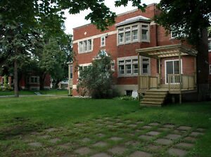 Very rare – large NDG family house ,huge fenced in double lot