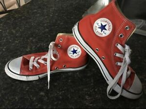 Converse Red youth size 3