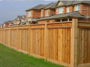 Fence repair or new installation service in GTA call 437-7798379