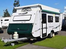 Used Galaxy Odyssey Caravan - Single Beds - Anderson Plug Wodonga Wodonga Area Preview