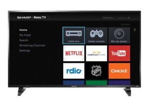 "50"" Sharp tv"