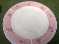 Home Etc Set of 10 China dinner plates