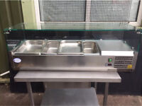 Valera Refrigerated Counter Top Servery Prep Unit