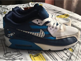 Nike air max 90 American flag 4th July Independence Day size 7.5uk