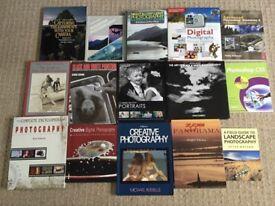 Photography books x 15