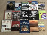 Photography books x 15