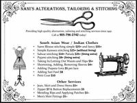 Nani's Alterations, Sewing and Tailoring