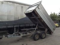 Saris ifor Williams tipping trailer 2009