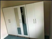🌞🔥UNBELIEVABLE DISCOUNTS ON WARDROBE, CHEST OFDRAWERS, BED SIDE TABLES ALL NEW READY ASSEMBLED