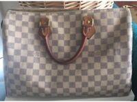 Louis Vuitton Bag Speedy 35 Damier Azur