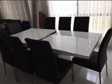 dining table and chairs - 8 seater Auburn Auburn Area Preview