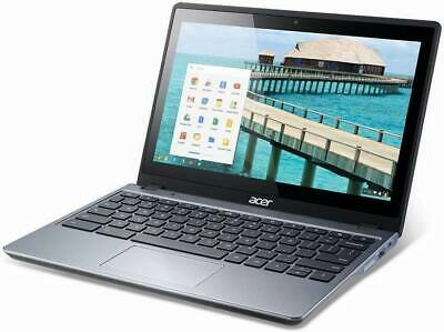 "Acer TouchScreen Chromebook Laptop C720P 11.6""  4GB RAM 32GB HD 1.4GHz WEBCAM"