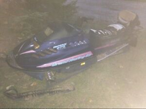 1995 ski doo long track grand touring 670 parts project