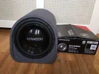 Mtx enclosure with amp with kenwood subwoofer