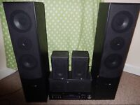 Auna 9200S with Hyundia surround set