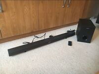 Sony SS-WCT60 Sound Bar and Subwoofer