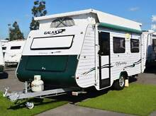 Galaxy Odyssey Used Caravan - Single beds - Battery Pack Wodonga Wodonga Area Preview