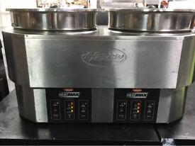 Hatco RHW-2 freestanding round heated Bain Marie