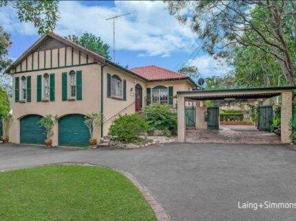 Rooms for rent available in pennant hills close to train station