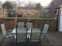 6 Seat table and chairs - Good condition