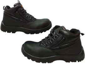 New Mens Safety Boots UK Size 10 Boxed